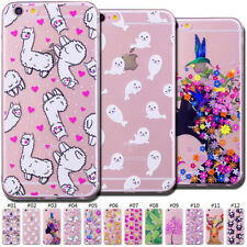 Rubber Painted Case TPU Back Slim Fashion Skin Soft Cover For Apple iPhone 6/6S