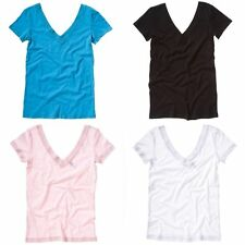 Bella + Canvas Womens/Ladies Jersey V Neck Short Sleeve T-Shirt/Top (RW3553)