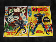 1969 AVENGERS 62 87 BLACK PANTHER ORIGIN 1ST APPEARANCE OF MAN APE MARVEL 1 4 57