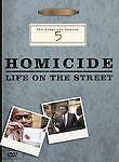 Homicide: Life on the Street - The Complete Season 5 (DVD, 2004, 6-Disc Set)