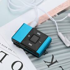USB Clip Digital MP3 Music Player Stereo Waterproof Support Micro SD TF Card