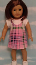 """Dress handmade to fit 18"""" American Girl Doll 18 inch Doll Clothes 19c"""