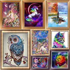 Rose 5D Diamond Painting DIY Embroidery Cross Stitch Home Decor Needlework Craft