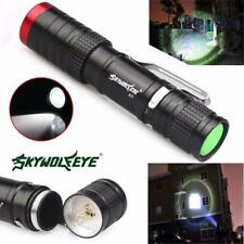 3500 Lumens 3 Modes Flashlight CREE XML XPE LED Torch Lamp ZOOM Light Outdoor