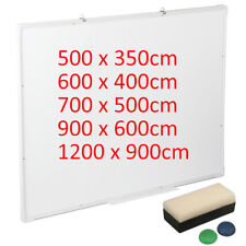 Magnetic Whiteboard Dry Wipe Office School Home Drawing Board Large Medium Small