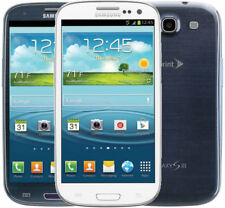 Sprint Galaxy S3 III L710 Smartphone Samsung SPH-L710 16GB Cellphone Blue White