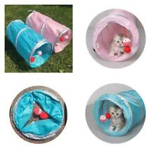 Foldable Cat Tunnel Toy Pet Kitten Rabbit Play Tube Tunnel With Ball Toys Funny