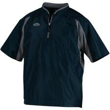 RAWLINGS BOYS' SHORT-SLEEVE BASEBALL CAGE JACKET