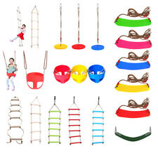 Rope Climbing Ladder Play Swing Park Garden Swing Seat Child Summer Outdoor Toy
