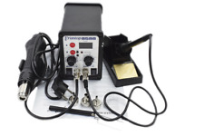 700W 2 in 1 Soldering Rework Station 8586 Hot Iron Air Gun Welder Solder set