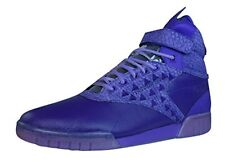 Reebok Classic Exo Fit Hi Clean PM Int Mens Leather Sneakers, Purple