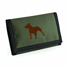 Wallet, Bulldog Dogs Silhouette Design French Bulldog, Staffy, Bull Terrier Gift