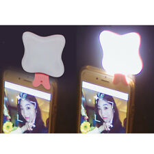 Mini Rechargeable Butterfly Photo Selfie Lamp Light Up LED Flash Fill Light