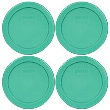 Pyrex 7202-PC Round 1 Cup Green Plastic Lid Cover