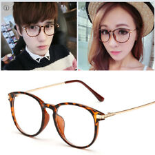 Unisex Clear Lens Glasses Retro Fashion Nerd Geek Eyewear Eyeglasses Attractive
