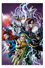 Justice League Strike Poster New - Maxi Size 36 x 24 Inch