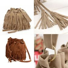 Fashion Women Fringe Tassel Shoulder Bag Crossbody Bag Messenger Handbag new