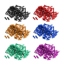 100Pcs 4mm Bike Bicycle MTB Shifter Brake Wire End Core Cap Cable Cover Gear