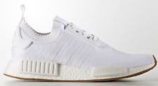 Adidas NMD R1 PK Gum Pack Triple White Primeknit Boost Men's Trainers All Sizes
