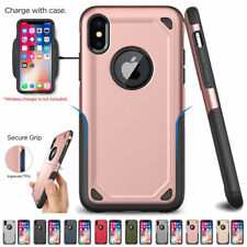 For iPhone X/8/6s Plus Heavy Duty Armour Phone Case Cover Shockproof Strong