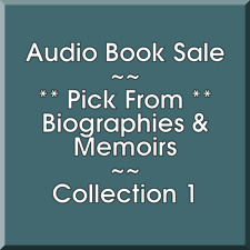 Audio Book Sale: Biographies & Memoirs (1) - Pick what you want to save