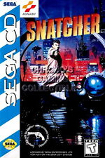 122997 Snatcher Sega CD Decor WALL PRINT POSTER UK
