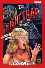 121816 Night Trap Sega CD Decor WALL PRINT POSTER CA