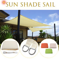 Sun Shade Triangle/Square Sail Garden Patio Awning Canopy Screen UV Block 3m