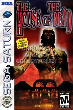 123436 The House of the Dead Sega Saturn Decor WALL PRINT POSTER DE