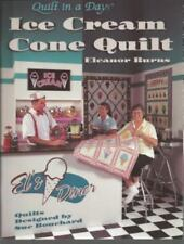 Ice Cream Cone Quilt by Eleanor Burns (2003, Paperback)