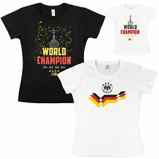 Football Ladies 2018 World Cup Fan-Shirt T-Shirt Top Germany for Women Xs S M L