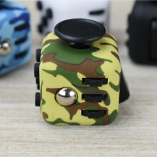 2x Fidget Cube Anxiety Stress Relief Focus Gift Attention For Adults Kids ADHD
