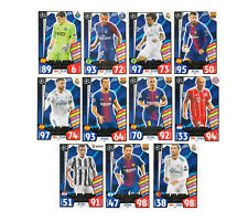 2017 2018 Topps Match Attax UEFA Champions League  UCL ALL-STAR XI