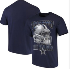 Dallas Cowboys FIERCE HELMET Short Sleeve NFL T-Shirt - Navy