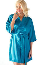 Women Kids Luxury Robe Silk Satin Kimono bath Girl Gown Wedding Bridesmaid Gift