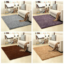 Durable Anti-Skid Shaggy Area Rug Dining Room Home Carpet Floor Mat 80X120CM