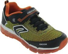 Geox J Android B. A Boy's Multi Single One Strap Light Up Casual Trainers New