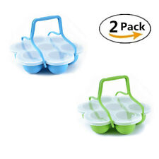 7 Holes Instant Pot Silicone Storage Container Egg Bites Mold Baby Food Freezer