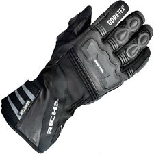 Richa Cold Protect Gore-Tex Leather Textile Motorcycle Motorbike Glove - Black