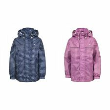 Trespass Childrens Unisex Enjoy Zip Up Waterproof Jacket (TP2752)