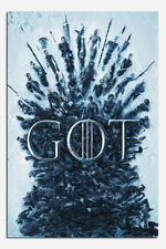 Laminated Game Of Thrones Throne Of The Dead Poster New