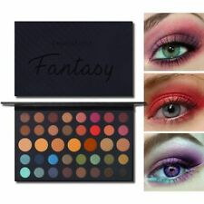 Makeup Eye Shadow Shimmer Matte Palette Glitter Pigmented Beauty 40 Colors 20g