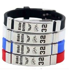 Blake Griffin Basketball Bracelet Silicone Stainless Steel adjustable Wristband