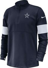 Nike 2019 Dallas Cowboys Sideline Performance Half-Zip Dri-FIT Pullover Jacket