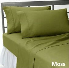 Comfort Duvet Collection 100% Cotton 1000 TC Select US Size Moss Solid