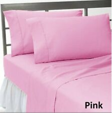 Comfort Duvet Collection 100% Cotton 1000 TC Select US Size Pink Solid