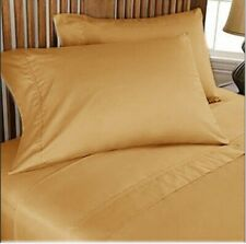 Comfort Duvet Collection 100% Cotton 1000 TC Select US Size Gold Solid