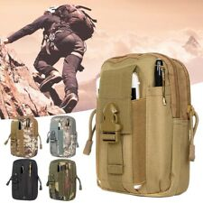 Mini Outdoor Waterproof Tactical Waist Belt Pack Phone Pouch Bag Camping Hiking