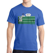 Intellivision Solitaire Hit? Game Men's Royal Blue T-shirt NEW Sizes S-2XL