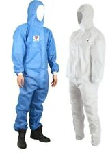 10 PCS Unisex Disposable Virus Protection & Chemical Protective Coveralls - Pro